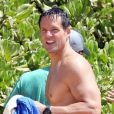 """Josh Hopkins à Hawaï le 14 juin 2012."""