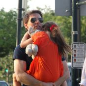 Tom Cruise et Suri : Tendres retrouvailles à New York