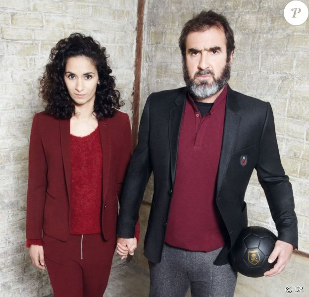 Rachida Brakni et Eric Cantona pour The Kooples sport