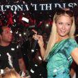 Paris Hilton et le milliardaire Javed Fiyaz au Palais Club de Cannes, le 22 juillet 2012.