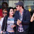 Robert Pattinson et Kristen Stewart à San Diego en 2009, font une promo rock de Twilight