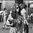 Charlotte Rampling et son fils Barnaby Southcombe à Saint-Tropez en 1977.