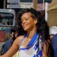 Rihanna fait du shopping dans les rues de Monaco le 29 juillet 2012