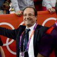 François Hollande en visite à Londres durant les Jeux olympiques le 30 juillet 2012