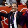 François Hollande le 30 juillet 2012 durant les Jeux olympiques de Londres
