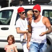 Justin Bieber : Grand frère protecteur sexy avec les adorables Jaxon et Jazmyn
