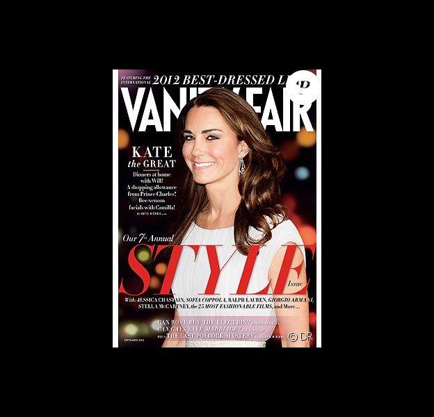 Kate Middleton en couverture du supplément de Vanity Fair qui sacre les personnalités les mieux habillées de l'année