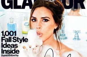Victoria Beckham : Un bain Glamour pour la reine de la mode