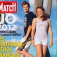 Paris Match en kiosques le 2 août 2012