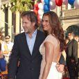 Brooke Shields et Chris Henchy lors de l'avant-première du film Moi, député à Los Angeles le 2 août 2012