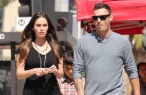 Megan Fox : Sortie en famille pour la sublime future maman