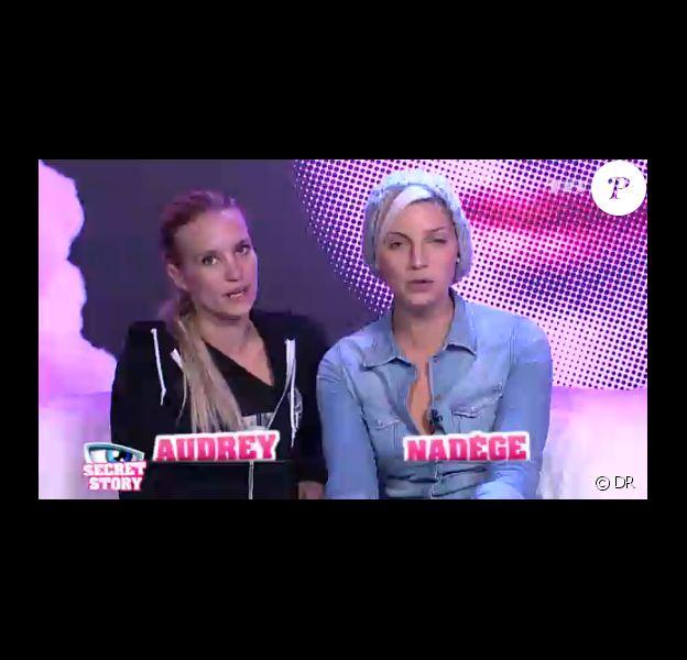 Audrey et Nadège dans la quotidienne de Secret Story 6 le lundi 6 août 2012 sur TF1