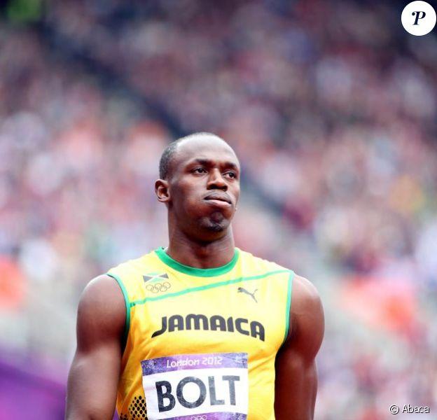 Usain Bolt le 7 août 2012 à Londres lors des Jeux olympiques, a bien du mal avec les règles britanniques