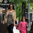 Katie Holmes et sa fille Suri Cruise le 21 mai 2012