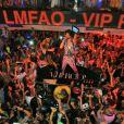 LMFAO en concert lors de la soirée du 6 août 2012 au VIP ROOM de Saint-Tropez
