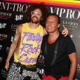 RedFoo de LMFAO et Jean-Roch au VIP ROOM de Saint-Tropez le 6 août 2012