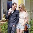 Kate Bosworth et Michael Polish dans les rues de Los Angeles, ne se quittent plus