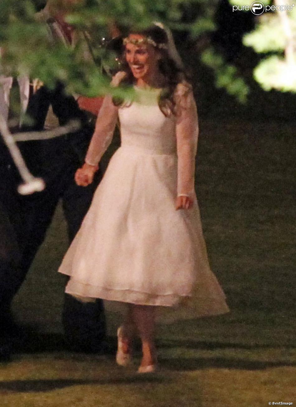 Natalie Portman Lors De Son Mariage Avec Benjamin Millepied Le 4