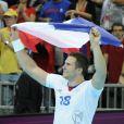 William Accambray savoure... Les Experts du hand français ont conservé le 12 août 2012 aux JO de Londres leur titre olympique de Pékin en battant en finale la Suède (22-21). Un doublé historique, une joie épique, une équipe de légende.