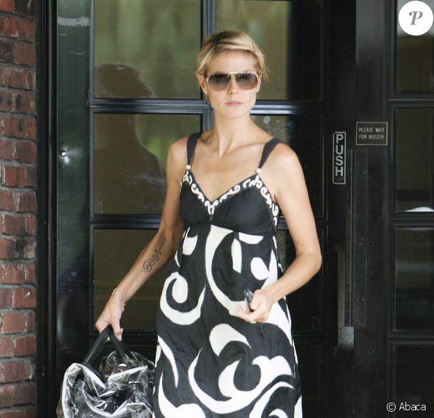 Heidi Klum, version noir et blanc !