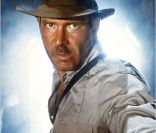 Harrison Ford dans le film Indiana Jones et le temple maudit (1984)