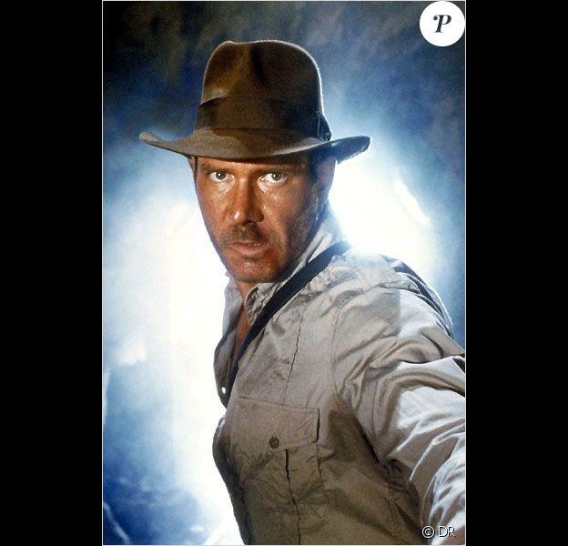 Harrison Ford dans le film Indiana Jones et le temple maudit (1984)