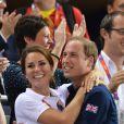 """""""Le prince William et la duchesse de Cambridge lors des Jeux olympiques de Londres le 2 août 2012"""""""