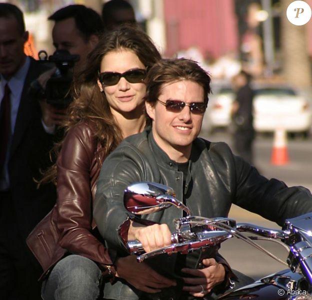 Tom Cruise et Katie Holmes en 2005.
