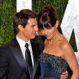Tom Cruise et Katie Holmes en février 2012.