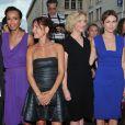 Sonia Rolland, Audrey Dana, Marie Josée-Croze et Natacha Régnier lors de la présentation du film  Stars 80  au Festival du Film d'Angoulême, le 21 août 2012.