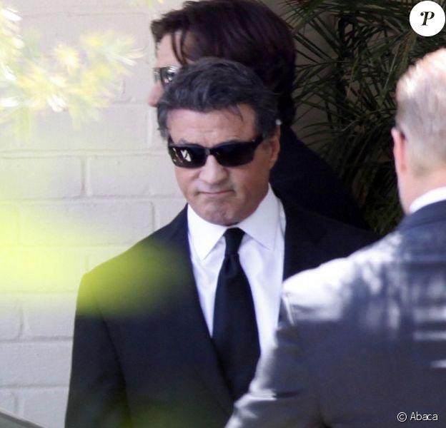 Sylvester Stallone à Los Angeles le 21 juillet 2012.