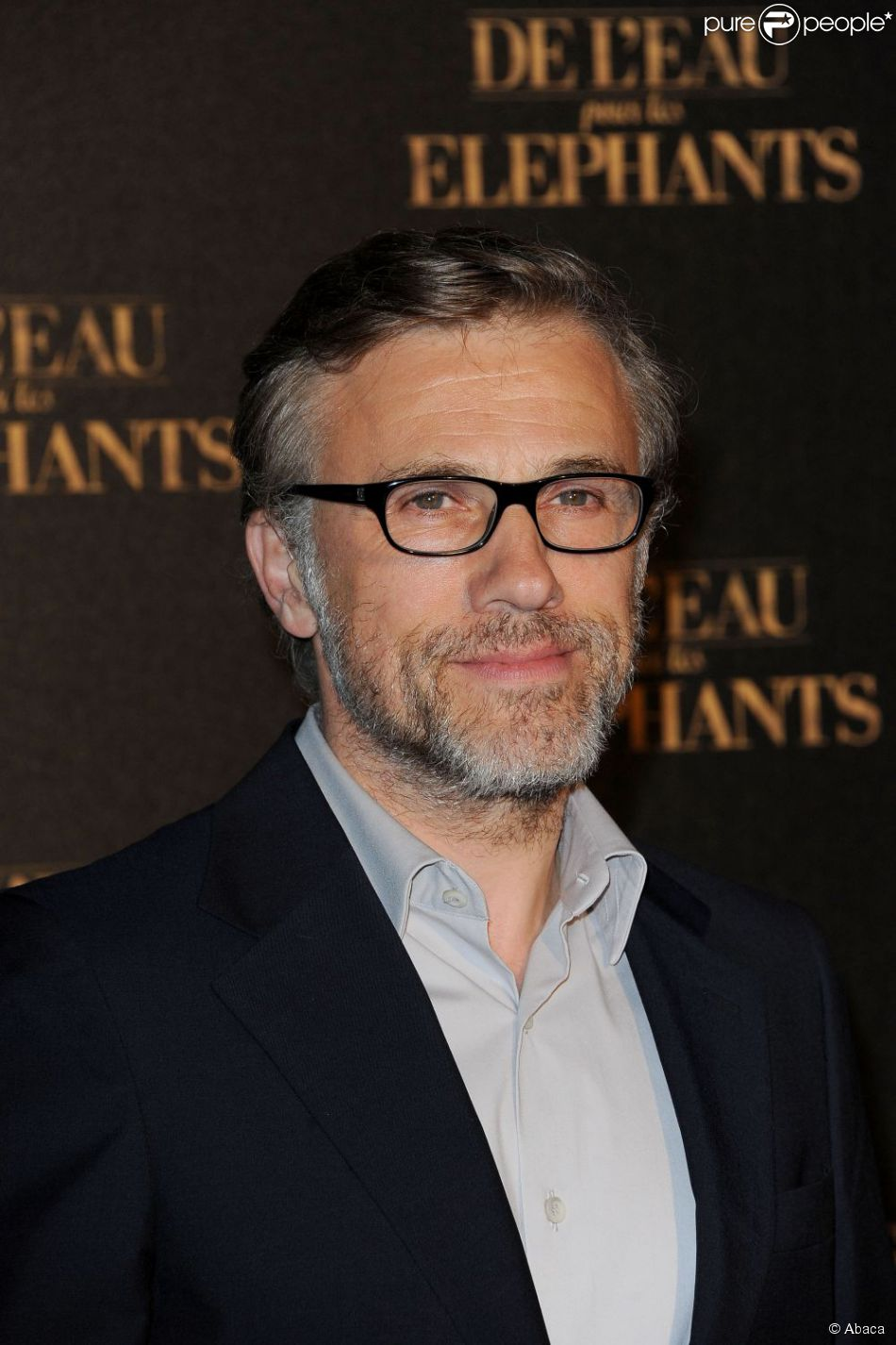 Christoph Waltz le 28 avril 2011 à Paris