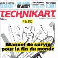 Tecknikart , en kiosques le 30 août 2012.