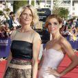 Clotilde Courau et Alice Taglioni lors de la cérémonie d'ouverture du 38e Festival du cinéma américain de Deauville, le 31 août 2012.