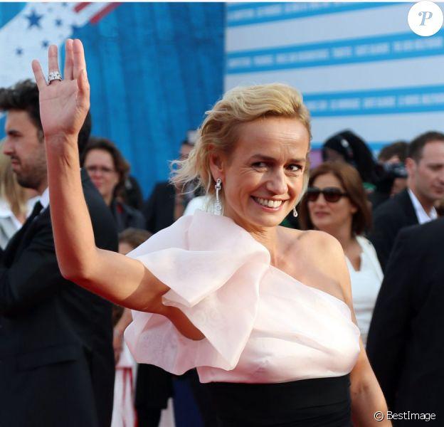 Sandrine Bonnaire lors de la cérémonie d'ouverture du 38e Festival du cinéma américain de Deauville, le 31 août 2012.