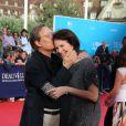 William Friedkin et Sherry Lansing lors de la cérémonie d'ouverture du 38e Festival du cinéma américain de Deauville, le 31 août 2012.