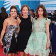 Mélanie Bernier, Ana Girardot et Astrid Bergès-Frisbey lors de la cérémonie d'ouverture du 38e Festival du cinéma américain de Deauville, le 31 août 2012.