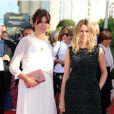 Marina Hands et Marie-Josée Croze lors de la cérémonie d'ouverture du 38e Festival du cinéma américain de Deauville, le 31 août 2012.
