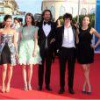 Frédéric Beigbeder préside le jury de la révélation Cartier lors du festival du cinéma américain de Deauville, le 31 août 2012.
