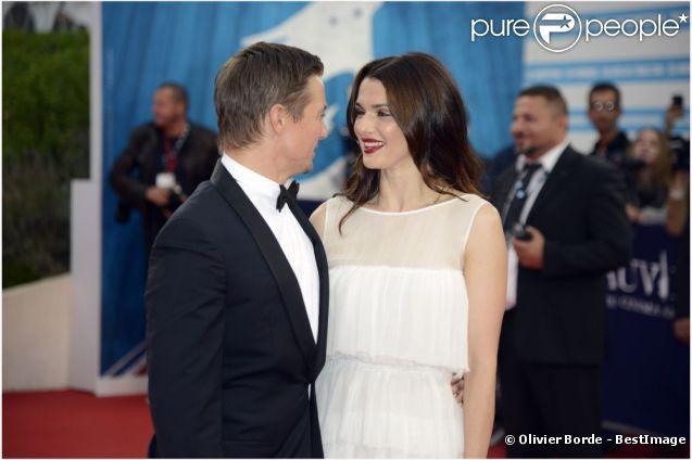 Rachel Weisz et Jeremy Renner présentent le nouveau volet de la saga Jason Bourne, le 1er septembre 2012.
