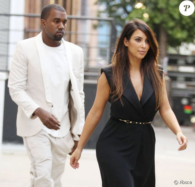 Kanye West et Kim Kardashian vont faire du shopping à New York le 2 septembre 2012