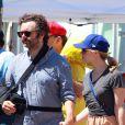 Rachel McAdams et Michael Sheen dans West Hollywood, Los Angeles, le 2 septembre 2012.