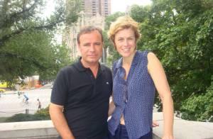 Anne Richard et Fabien Lecoeuvre : Six ans d'amour célébrés à New York
