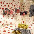 Pop-up store Louis Vuitton x Yayoi Kusama au grand magasin Printemps. Paris, le 4 septembre 2012.