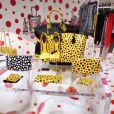 Le pop-up store Yayoi Kusama X Louis Vuitton, au Printemps Haussmann jusqu'au 20 octobre.