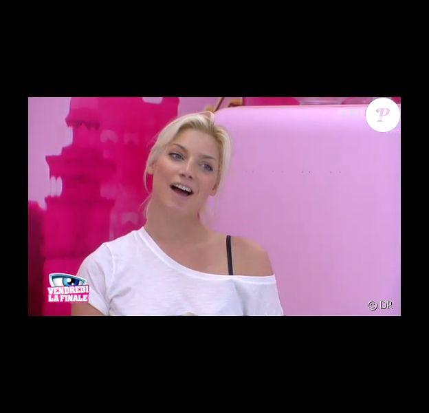 Nadège dans la quotidienne de Secret Story 6 le mercredi 5 septembre 2012 sur TF1
