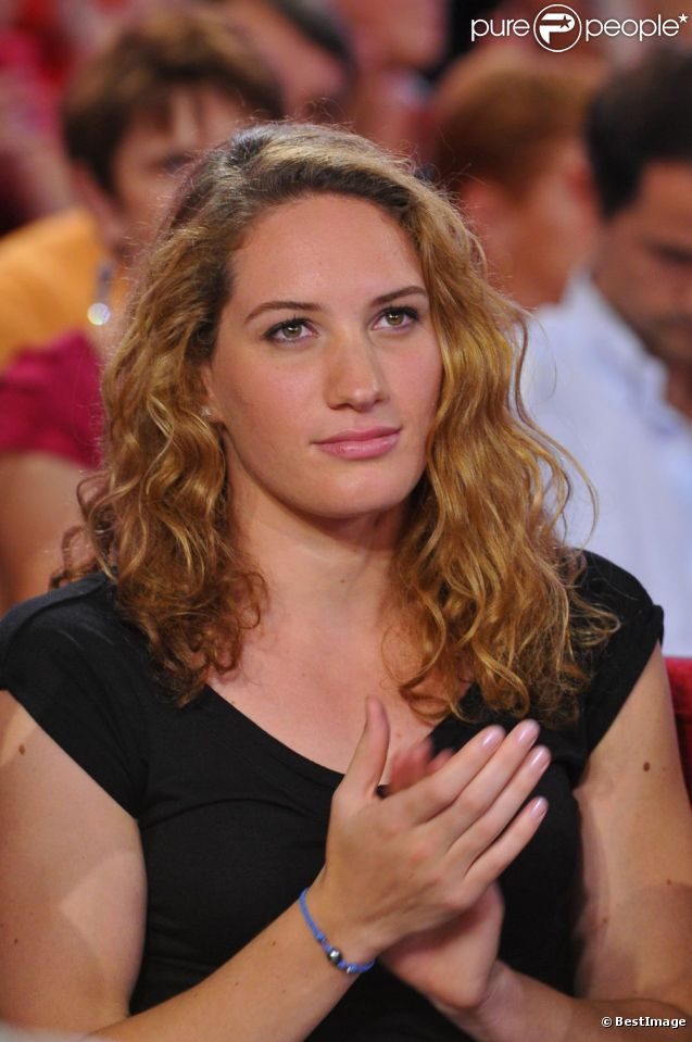 CAMILLE MUFFAT lors de lenregistrement de l��mission Vivement.