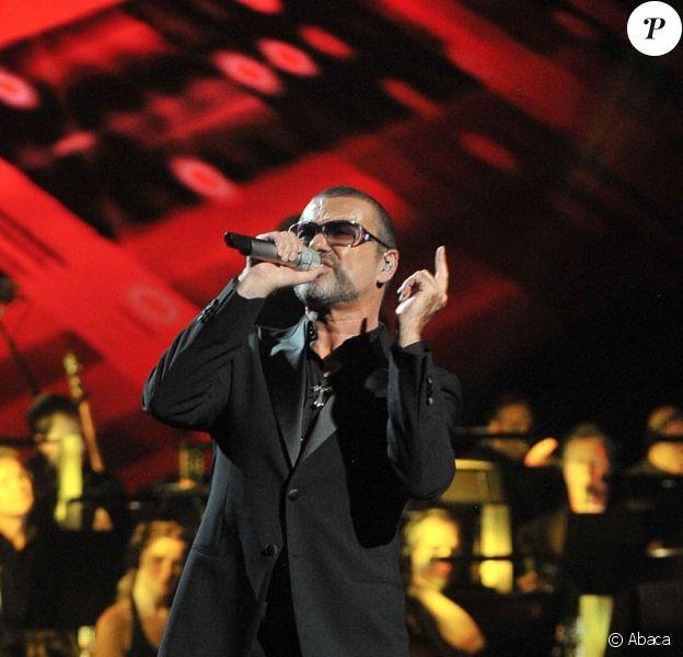 George Michael fait escale à l'Opéra Garnier avec le Symphonica Tour, le 9 septembre 2012. Une soirée dédiée à l'association Sidaction.