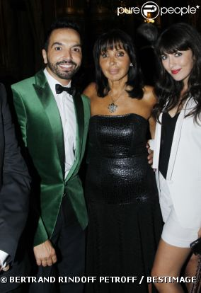 Nolwenn, Kamel Ouali et Jackie Lombard concert de George Michael Opera Garnier Sidaction