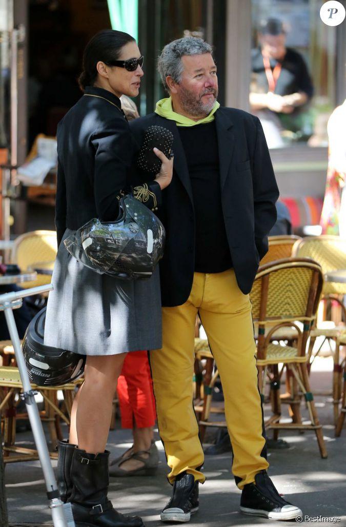 Philippe starck et son pouse yasmine au mariage de farida khelfa et henri se - Enfants philippe starck ...